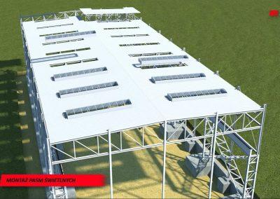 Budowa hali przemysłowej