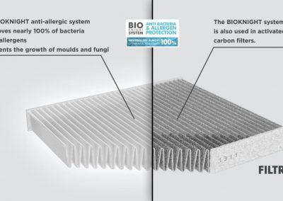 Filtron filtr przeciwpyłkowy